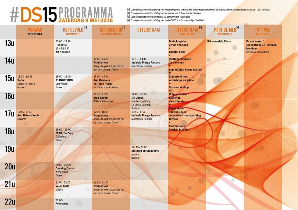 DS 2015 Programma A4 Overzicht