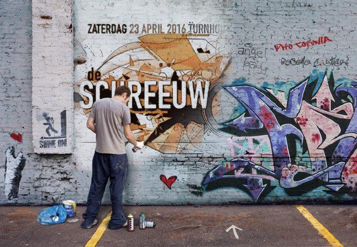 DS 2016 Graffiti De Schreeuw